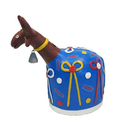 Blue Ox - Clay -  Figure - Clay Handicraft - TheFOB  - The Finest of Brasil