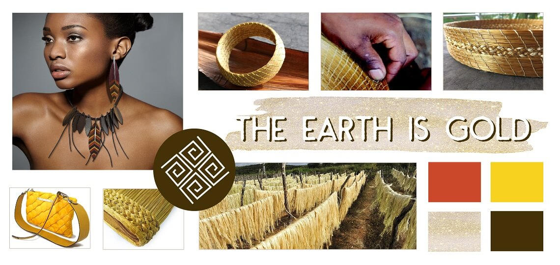 The earth gold